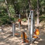 Unterwegs in Form bleiben - Fitness Spielplatz
